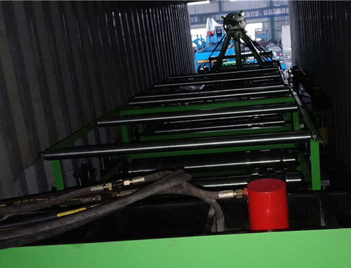 china latest news about Floor decking machine ship to Peru