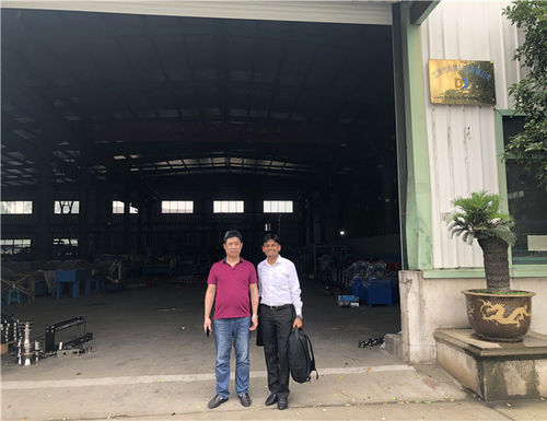 china latest news about 201906 Customer From India visit our factory