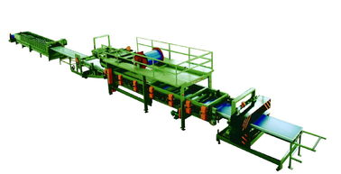 China EPS Sandwich Panel Roll Forming and Pressing Machine With Adjustable Working Speed factory