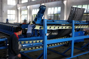 China Electric Control Super Span Roll Forming Machine / Arch Roof Forming Machine supplier