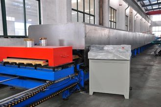 China Automatic PU Panel Production Line With Max Width Of 1300mm Crawler Belt factory