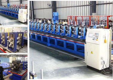 China Well Known U C Channel Roll Forming Machine Work High Speed 4 Rollers supplier