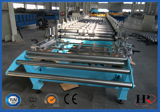 China Hydraulic Decoiler Standing Seam Roof Sheet Roll Forming Machine 30 M / Min supplier