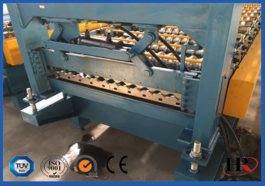 China Custom Galvanized Steel Sheet Rolling Forming Machine With Manual Decoiler supplier