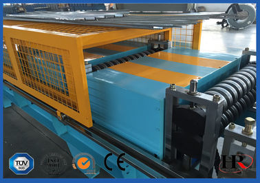 China Standing Seam Cold Roll Forming Machine Trapezoidal Sheets 1000 - 1250mm Width Coil supplier