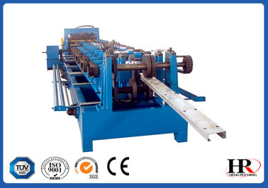 China Quick Interchangeable CZ Purlin Roll Forming Machine Custom Size Changeable supplier