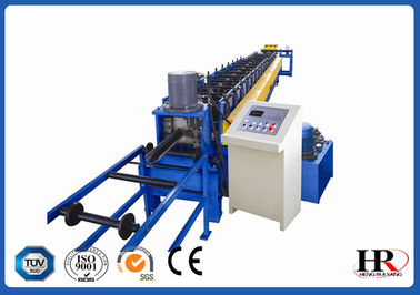 China Structural Steel Lip Channel / Purlin Roll Forming Machine Automatic Easy Operation supplier