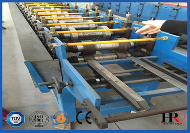 China Window / Door Frames Roll Forming Machine 5.5 KW 380V With PU Foam Insulated supplier