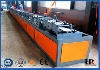 China Double Layer Insulated Rolling Shutter Door Making Machine 5T Hydraulic Decoiler supplier