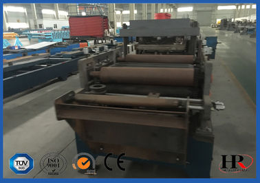 China Punching / Cutting Cold Roll Forming Machine With Surface-treated Roller factory