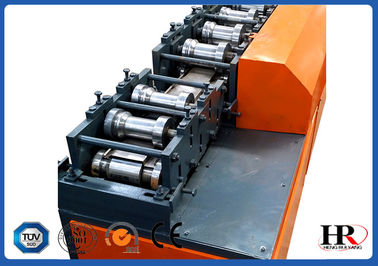 China 15 Tons 23kw Roller Shutter Doors Cold Roll Forming Machine With 0.4mm -1.0mm thickness supplier