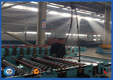 China Fast Speed Metal Deck Roll Forming Machine , Punching Metal Mesh Production Line supplier