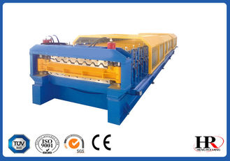 China Roof Double Layers Cold Roll Forming Machine , Color Steel Roll Forming Machine supplier