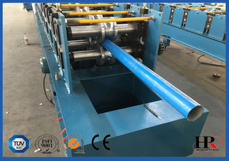 China Galvanized Down Pipe Roll Forming Machine Unique High Speed supplier