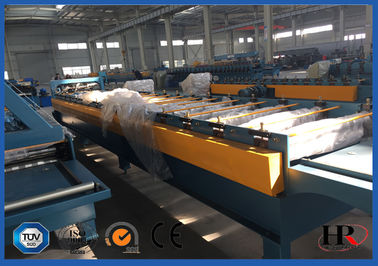 China Arc Corrugated Metal Roofing Roll Forming Machine Beautiful High Speed supplier