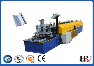 China Shutter Door Cold Roll Forming Machine With Double Head Uncoiler supplier