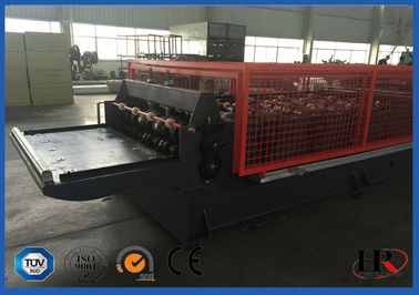 China Double Layer Corrugated Sheet Roll Forming Machine With Hydraulic Station supplier