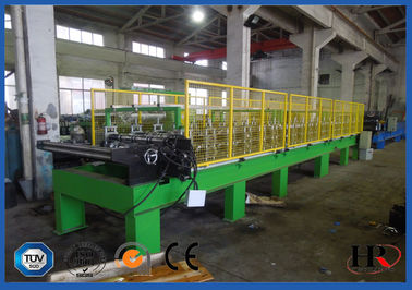 China PU Shutter Door Frame Roll Forming Machine Double Belt Aluminum Coil Plate factory