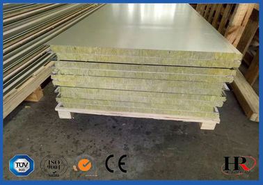 China Continuous EPS Sandwich Panel Production Line 0.286 - 0.6mm Thickness factory