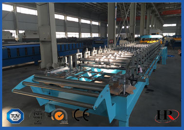 China Steel Structural Floor Panel Cold Roll Forming Machinery Easy Control supplier
