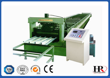 China 4KW Strong Strength Metal Deck Roll Forming Machine High Ribs supplier