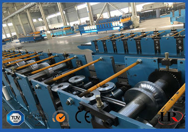 China Metal Square Water Pipe Cold Roll Forming Machine High Speed supplier