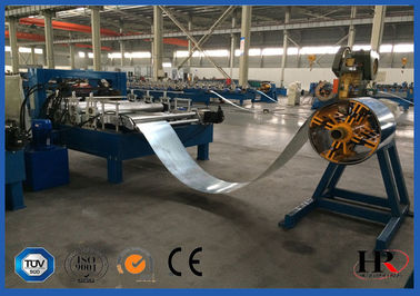 China GI Cold Steel VCD Damper Frame Making Machine 1.5 Mm Thickness supplier