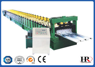 China 380V 3 Phase Sheet Metal Roofing Forming Machine 0.8 - 1.6mm Thickness supplier