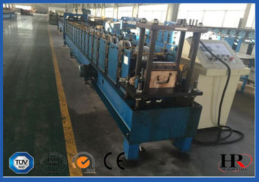 China K Style Half Round Gutter Roll Forming Machine 6 Inch Galvanized Sheet supplier