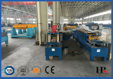 China Aluminum Plate Shutter Rolling Machine , Automatic Rolling Machine supplier