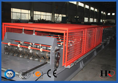 China Floor Deck Automatic Forming Machine with Run Out Table / Auto Stacker supplier