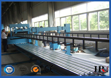 China Alu Zinc​ Metal Deck Roll Forming Machine / Sheet Metal Roll Forming Machines supplier