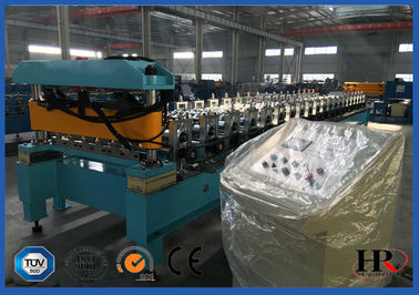 China ISO Steel Tile Cold Roll Forming Equipment With Galvanized Coils supplier
