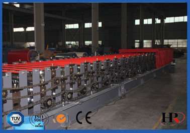 China Rib Lath Sheet Metal Roll Forming Machines / Hydraulic Shearing Roll Forming Machines factory