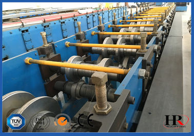 China Galvanized U Purline Sheet Metal Roll Forming Machines for Making U-shape Support supplier