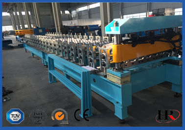 China Simple Self-locked Roof Series Roofing Tile Forming Machine / Improved Bender supplier