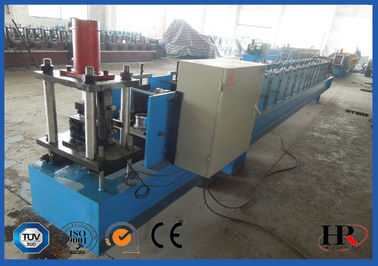 China Touch Screen Controls Z Purlin Roll Forming Machine With Button Switch supplier
