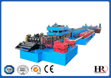 China Highway Guardrail Roll Forming Machine , Crash Barrier Roll Forming Machine supplier