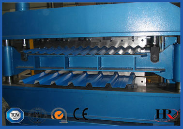 China High speed Roofing Sheet Wall Panel Double Layer Roll Forming Machine supplier
