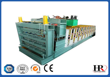 China three layer roofing sheet roll forming making machine with high speed supplier