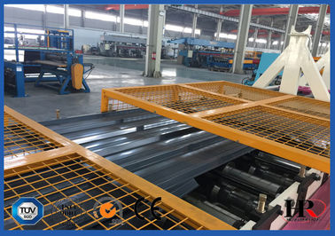 China Trapezoid Sheet Metal Roll Forming Machines factory