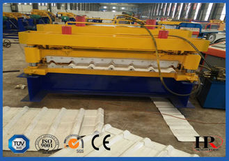 China Fully Automatic Galvanized Roof Roll Forming Machine 380V 50HZ supplier