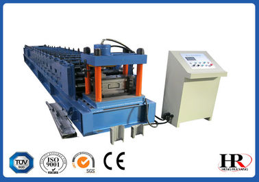 China Automatic Colored C Z Purlin Roll Forming Machine 0.3 - 0.8mm Thickness factory