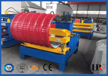 China Auto Bending Roof Cold Roll Forming Machine High Speed 1.5kw supplier