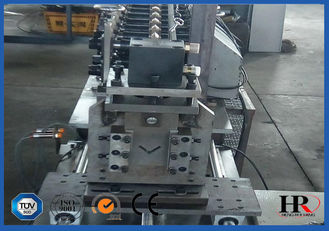 China V Profile Corner bead Purlin Roll Forming Machine For Wall Angle 6KW supplier