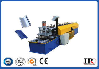 China 0.6 - 0.8mm Thickness Metal Shutter Roll Forming Machine With 180mm Feeding Coil Width factory