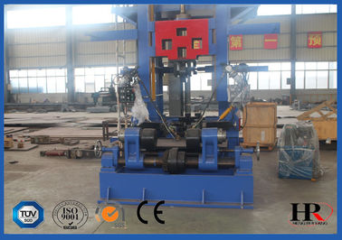 China Efficient H-beam Combination Work Station Production Line For Straightener And Cutter supplier