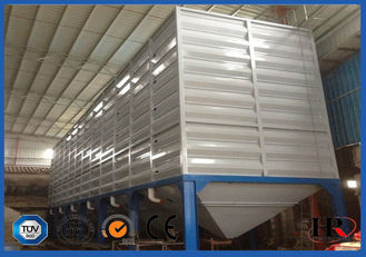 China 100 Ton Metal Tapioca Flour Storage Silo Roll Forming Machine , Silo Machine factory