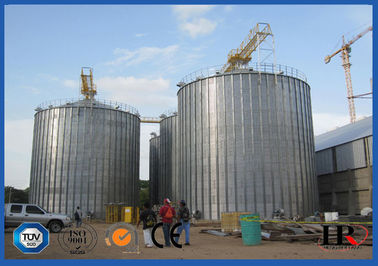 China High Capacity 2000 Ton Grain Storage Silo Making Machine 23.8m * 23.8m * 34.91m supplier