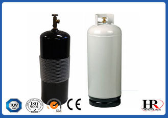 China HP325 Steel 100lb Lpg Gas Tank / 1255mm Height Propane Gas Bottle supplier
